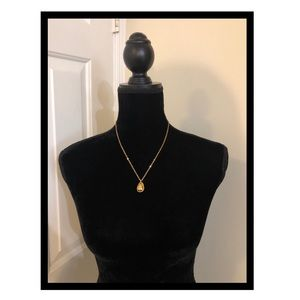 Premier Designs 10th Anniversary NWT Egg Necklace